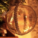 Boule de Noël en verre. Photo : Dario Spagnolo, 2006