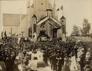 Fête nationale de l'Acadie en 1909, Shédiac (N.-B.)  (Par Dupont)
