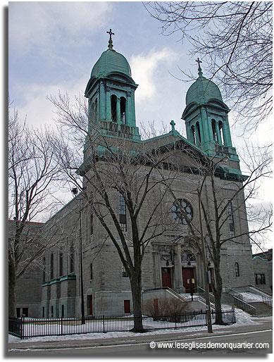 Église Saint-Marc (Montréal) Photo : leséglisesdemonquartier.com