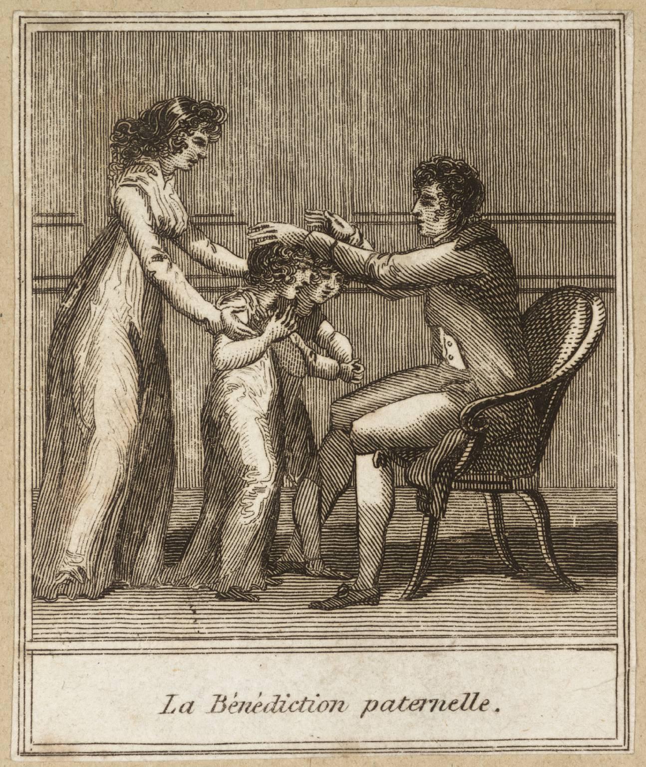 La bénédiction Artiste inconnu (Grande-Bretagne) Source : Tate Gallery
