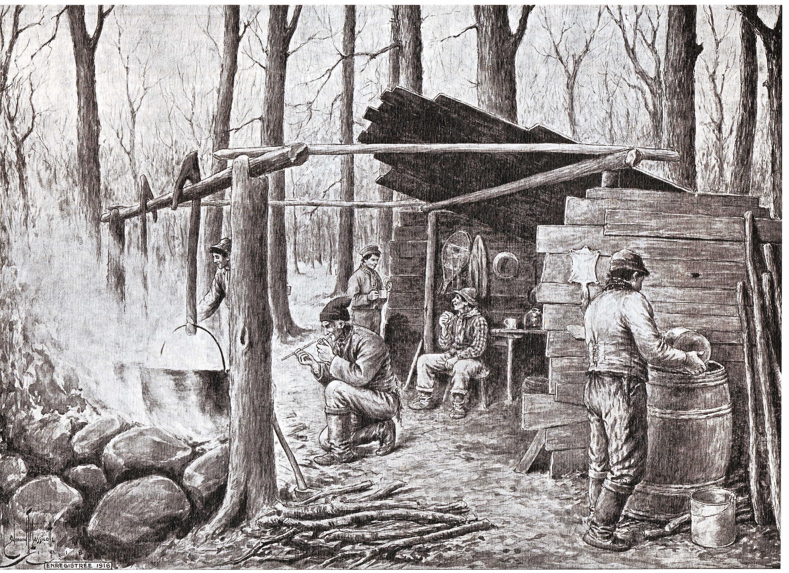 Les sucres Edmond-Joseph Massicotte, 1916