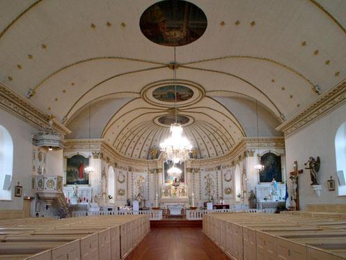 Intérieur de l'église Conseil du patrimoine religieux, 2003