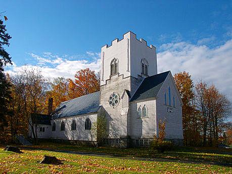 L'église Saint-James the Less en 2003 Photo : Conseil patrimoine religieux du Québec