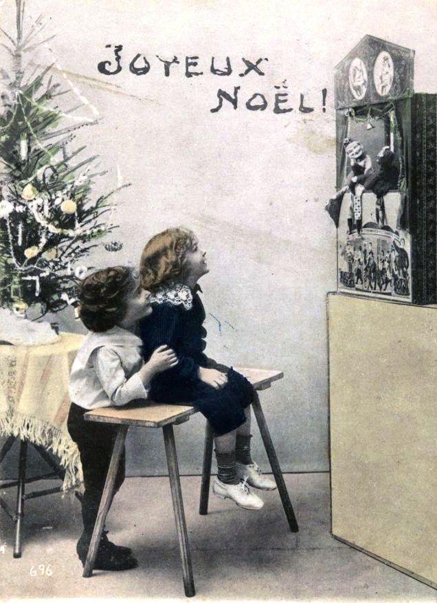 Cartes de voeux avec enfants, 1885 Photo : BAnQ