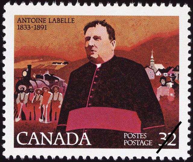 Timbre commémoratif, 1983 150e anniversaire de naissance du curé