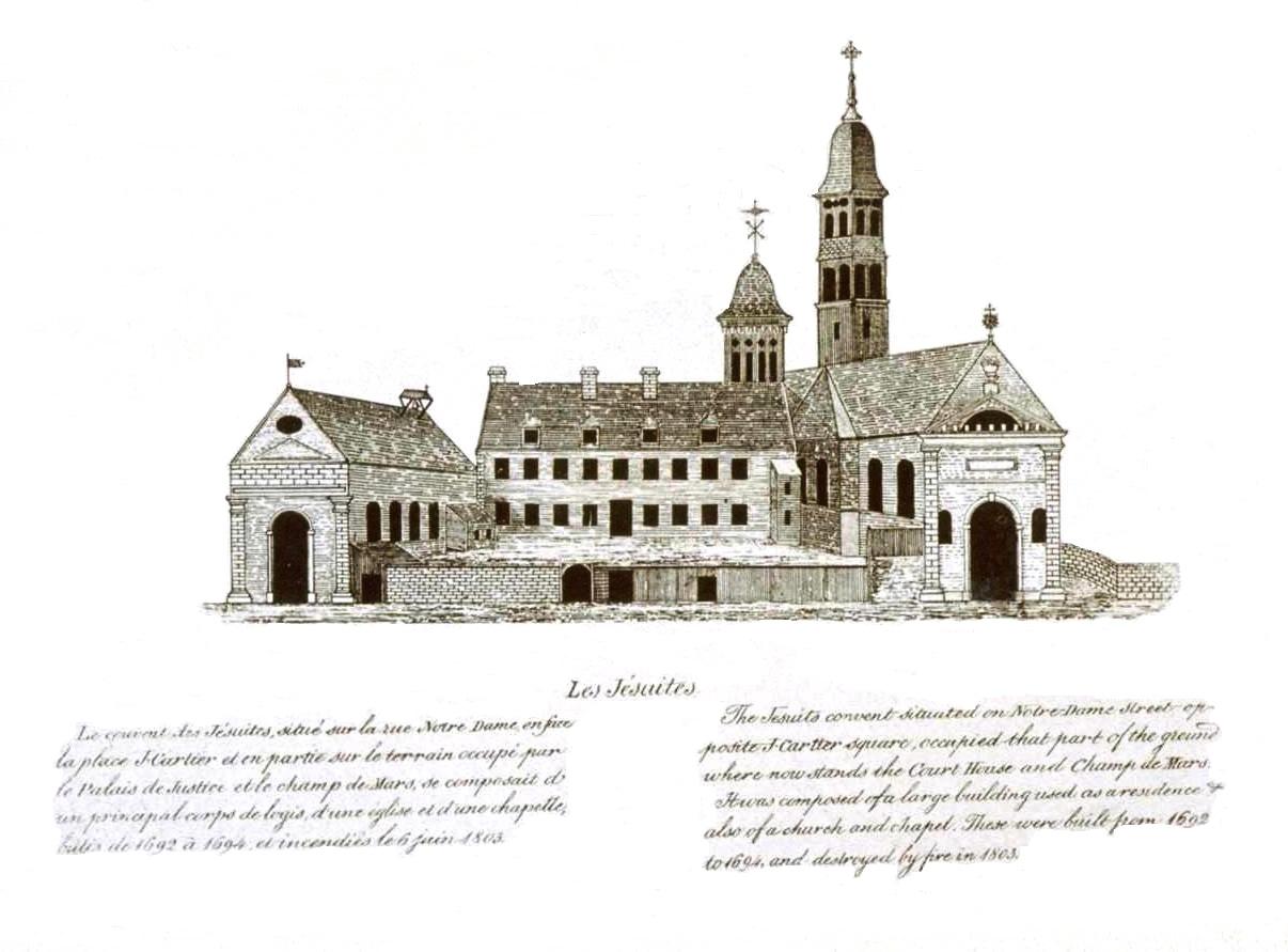 L'une des pages de Le vieux Montréal 1611-1803
